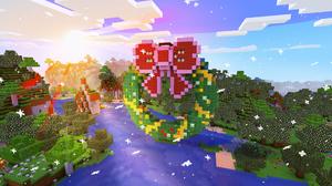 Minecraft Video Games Pixel Art 2560x1440 Wallpaper