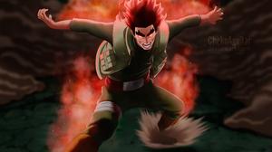 Eight Gates Naruto Might Guy 4448x3562 Wallpaper
