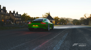 Forza Horizon 4 Video Game Art Car Porsche Porsche 911 GT3 RS 3840x2160 Wallpaper