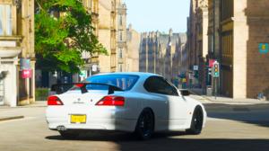 Forza Forza Horizon 4 Silvia Nissan Silvia Nissan Car White Cars Video Games 1675x866 wallpaper
