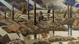 Oil Painting Painting World War I Belgium 5160x2160 Wallpaper