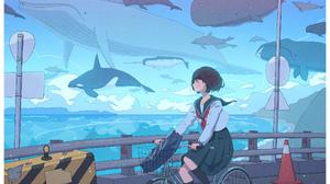 Anime Girls Anime 2300x1643 Wallpaper
