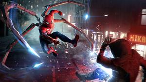 Sony PlayStation Playstation 5 4K Spider Man Peter Parker Marvel S Spider Man 2 Insomniac Games 3840x2160 Wallpaper