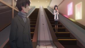 Yahari Ore No Seishun Love Comedy Wa Machigatteiru Yukino Yukinoshita Hachiman Hikigaya Boy Girl Bla 1920x1080 Wallpaper