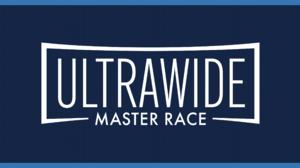 Ultrawide Master Race Blue 3440x1440 Wallpaper