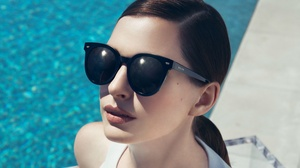 Actress American Anne Hathaway Sunglasses 3000x2000 Wallpaper