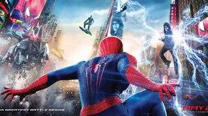 The Amazing Spider Man 2 Spider Man Green Goblin Electro Spider Man 2048x1084 Wallpaper