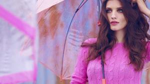 Anna Chipovskaya Women Russian Brunette Russian Women Singer Actress Green Eyes Lipstick Long Hair W 2582x1670 Wallpaper