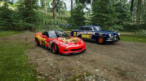Forza Horizon 4 Cars Movie Lightning Hudson Hornet Vehicle Drift Photorealistic YouTube YOUTUBECHANE 3840x2160 Wallpaper
