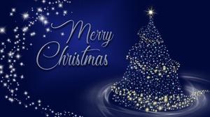 Christmas Christmas Tree Merry Christmas 4843x2953 Wallpaper