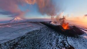 Earth Volcano 1920x1200 Wallpaper