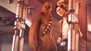 Chewbacca Han Solo Marvel Comics Star Wars 1920x1080 wallpaper