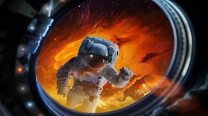 Sci Fi Astronaut 5120x2880 Wallpaper
