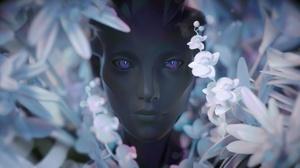 Purple Eyes Flower 1920x1080 wallpaper