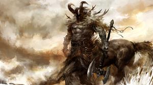 Fantasy Centaur 1920x1080 wallpaper