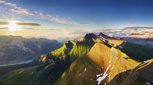Earth Mountain 1920x1200 wallpaper