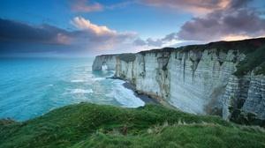 Arch Cliff Coastline Horizon Nature Ocean 1920x1080 wallpaper