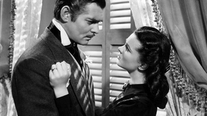 Black Amp White Clark Gable Couple Gone With The Wind Vivien Leigh 1920x1440 Wallpaper