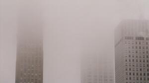 Landscape Skyline Mist Building Architecture City Winter Pastel 2048x1358 Wallpaper