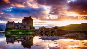 Eilean Donan Castle Scotland 2048x1365 Wallpaper