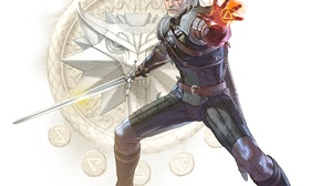 Geralt Of Rivia Sword The Witcher 3 Wild Hunt Warrior 7379x5454 wallpaper