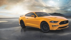 Car Ford Ford Mustang Muscle Car Orange Car Vehicle 3600x2401 wallpaper