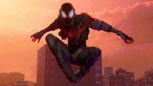 PlayStation Spider Man Marvel Comics Insomniac Games Miles Morales 3840x2160 Wallpaper