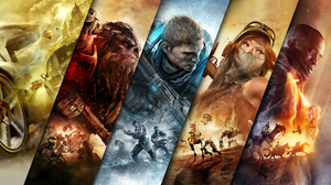 Battlefield 1 Forza Horizon 3 Gears Of War 4 Halo Wars 2 Recore 2560x1440 Wallpaper