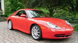 Car Convertible Porsche 911 Carrera Red Car Sport Car 2048x1366 Wallpaper