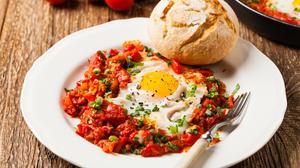 Bread Breakfast Egg Meal 5616x3744 wallpaper