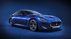 Blue Car Car Maserati Sport Car Vehicle 1920x1080 Wallpaper