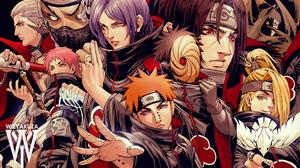 Pain Naruto Itachi Uchiha Obito Uchiha Kisame Hoshigaki Sasori Naruto Deidara Naruto Konan Naruto Hi 1798x1164 Wallpaper