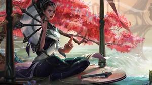 Fan Girl Karma League Of Legends League Of Legends Oriental 3840x2394 Wallpaper